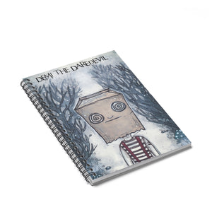 Demi Terror Spiraled Notebook