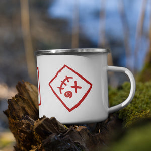 Demi the Daredevil Enamel Mug