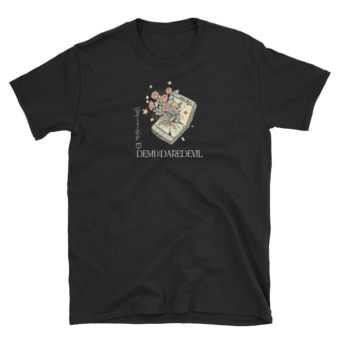 DEMI THE DAREDEVIL FLOWER PHONE T-Shirt