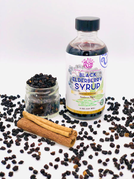 Black Elderberry Syrup- Daily Immune Support