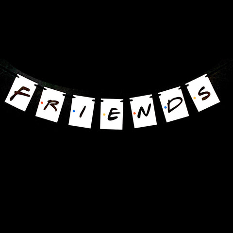 Friends TV Show Banner