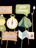 Camping Themed Photo Booth Props