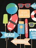 Beach Themed Photo Booth Props