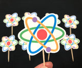Science Cupcake Toppers