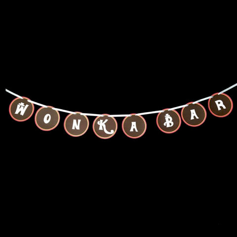 Willy Wonka Themed Banner