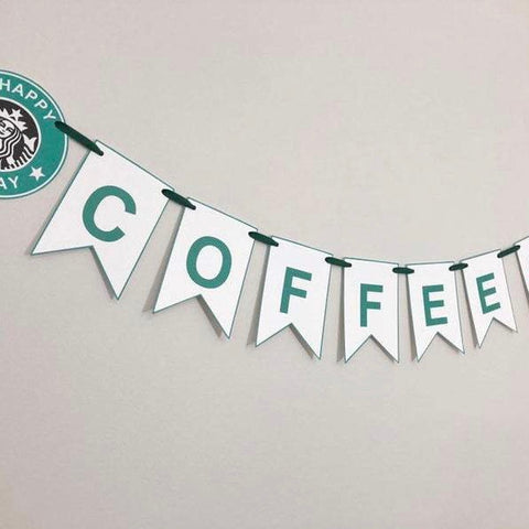 Starbucks Themed Banner