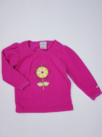 Fleece Flower Top (24 Months)