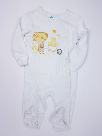 Gagou Tagou Cotton Footed Pyjamas (24 Months)