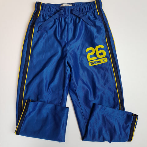 Blue Athletic Pants (Size 6-7)