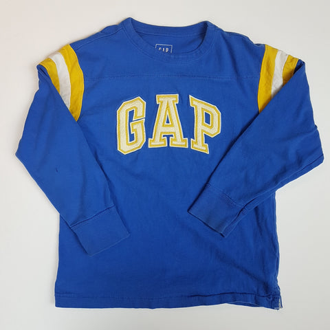 Blue and Gold GAP Logo Tee (Small)