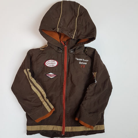 Roots Brown Fall Jacket (3T)