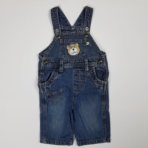 Sailor Bear Overalls (3-6 Months)