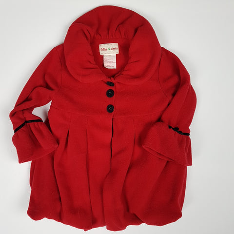 Red Fleece Fall Jacket (2T)