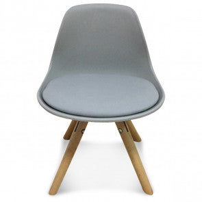 Chaise enfant mini scandinave grise