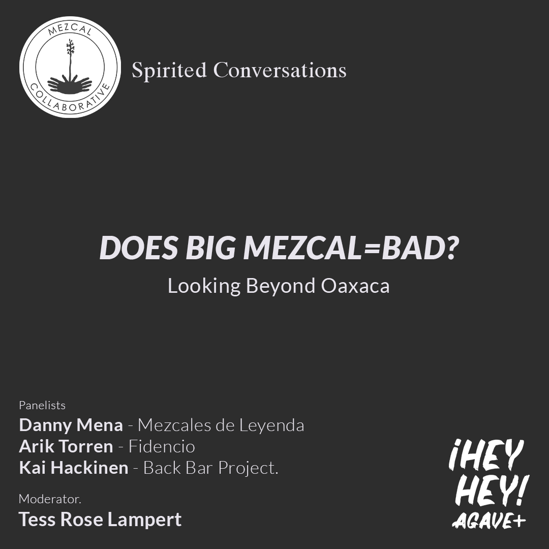 ¡Hey Hey! Agave / 9 + Spirited Conversations June 10, 2019