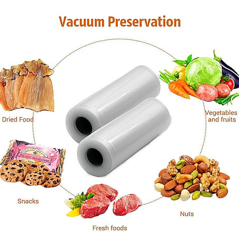 Kitchen Food Storage Bags For Vacuum Sealer