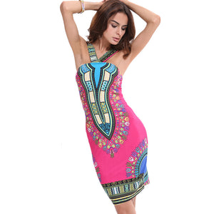 Siroun - Modern African Dashiki Dress