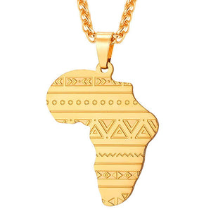 African Pendent - [solid stainless]