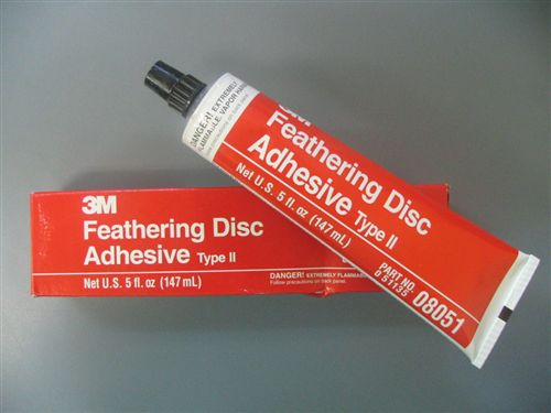 3M FEATHERING DISC ADHESIVE PASTE (#3MSAP)