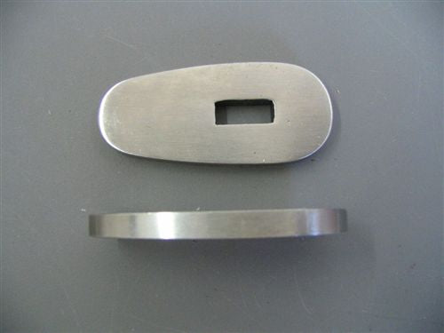STAINLESS GUARD 1 15/16 X 7/8 SLOT 1/2