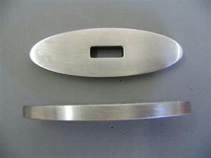 "STAINLESS GUARD 1 15/16 X 7/8 SLOT 1/2"" X 3/16"" (#5610)"