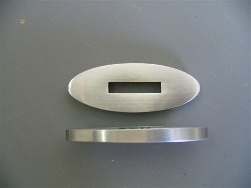 STAINLESS GUARD 2 5/16 X 7/8 SLOT 1 X 3/16