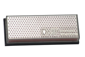 DMT 6-in. Diamond Whetstone Sharpener, Coarse with Plastic Box