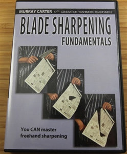 Blade Sharpening Fundamentals by Murray Carter