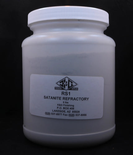 REFRACTORY SLURRY (SATANITE) 5 LB