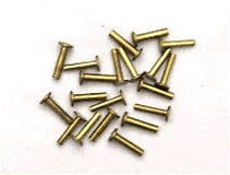 10 pair Nickel Silver. CUTLER RIVETS