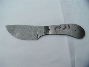 "GRIZZLY 3 1/2"" DAMASCUS BLADE"