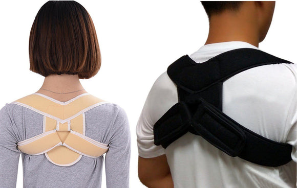 Posture Corrector Adjustable Back Brace & Shoulder Support - StabilityPro™