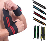 Fitness Weight Training Wrist Wrap Support Power Lifting Straps - StabilityPro™