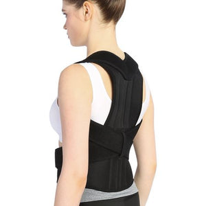 Women's Adjustable Posture Corrector Back Brace Shoulder Lumbar Spine Support