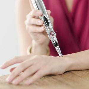 Acupuncture Massage Pen for Pain Relief & Arthritis - Great for Facial Lift too!