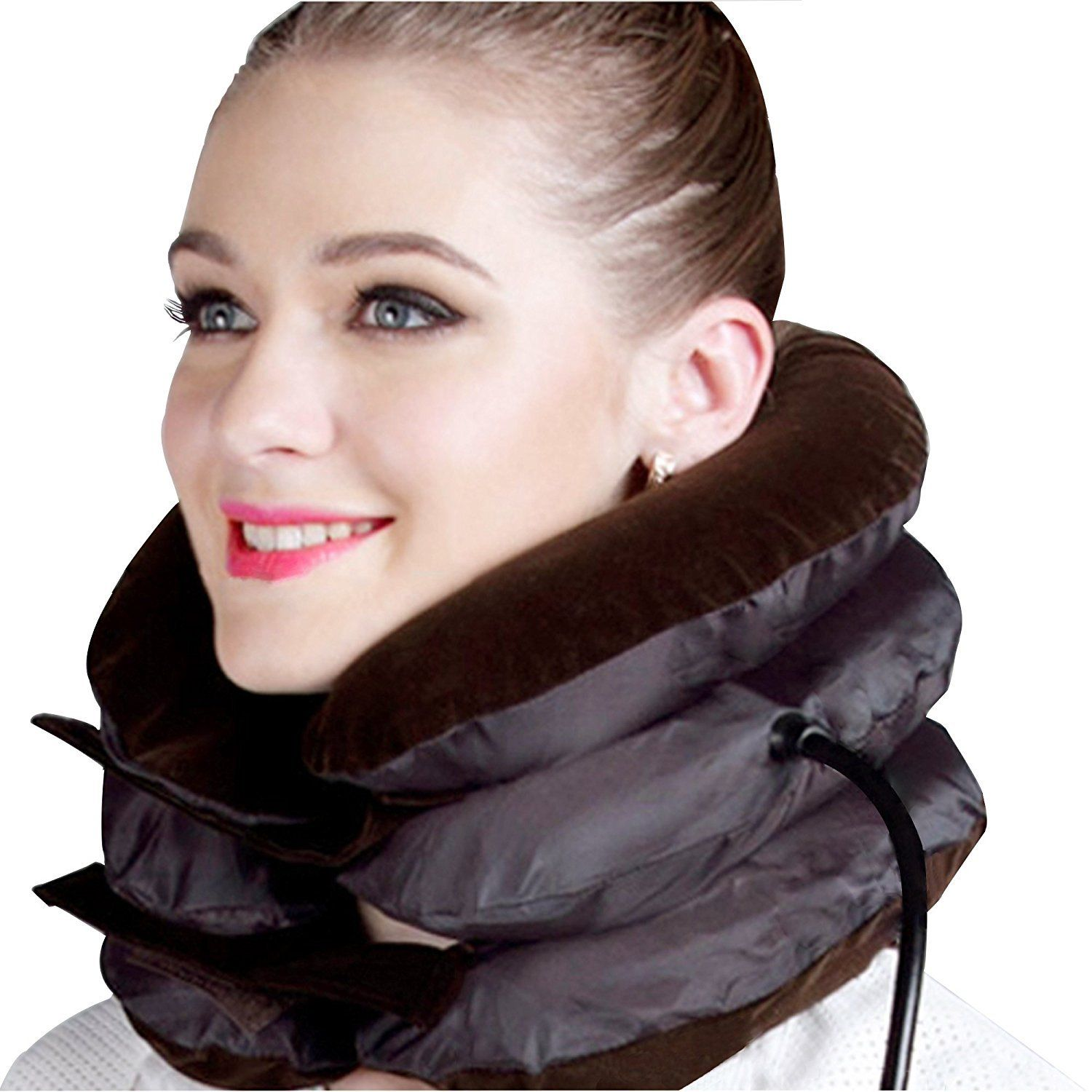 Picture of: Inflatable Cervical Neck Traction Device Collar Brace Pain Relief Stabilitypro