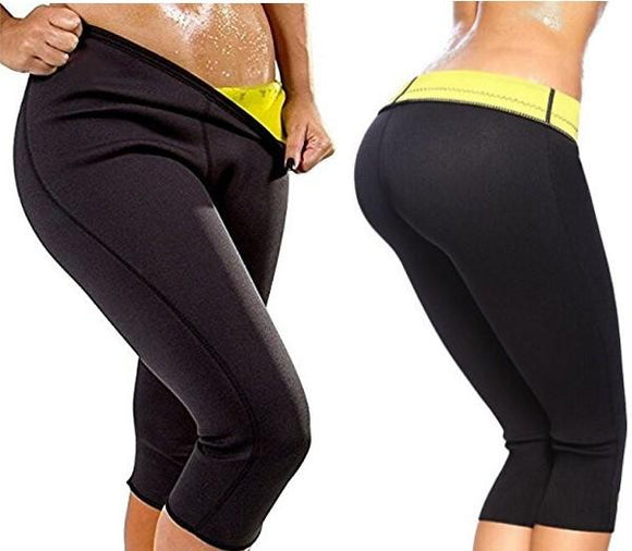 Sauna Pants Sweat Waist Trimmer Slimming Weight Loss Capris - StabilityPro™