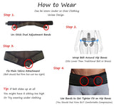 Sciatica Brace Sacroiliac Hip Belt - Alleviate Sciatic, Pelvic, Lower Back & Leg Pain