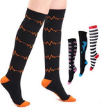Compression Socks 20-30 mmHg for Swelling Knee High Women Stockings