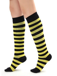 Cool Stripe Compression Socks 20-30 mmHg for Circulation, Swelling & Energy