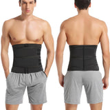 Waist Trainer for Men - Double Compression Strap Sweat Belt - Burn Stomach Fat!!