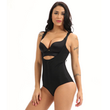 Sexy Zip Bodysuit Waist & Stomach Shaper - Easy Bathroom Access