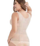 Plus Size Sexy Lace Waist Trainer with 6 Adjustable Hooks