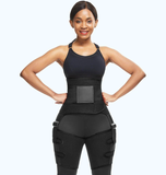 Waist Trainer Belly & Thigh Fat Burning Weight Loss Wrap with Butt Lifter
