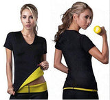 Sauna Sweat Thermo Shirt Belly Trimmer Waist Slimming Trainer Suit - StabilityPro™