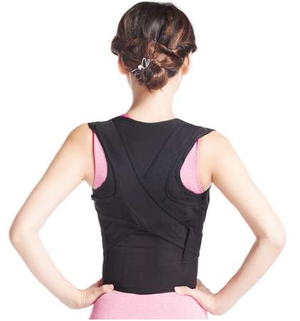 Women's Supportive Back Brace - Lower Back Support ~ Improve Posture!