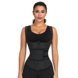 Waist Trainer Vest - Sweat Belt Fitness Trimmer ~ With Velcro & Zipper!