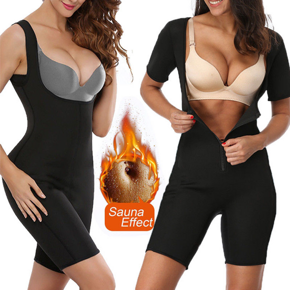 Full Sauna Body Shaper Weight Loss Sweat Suit