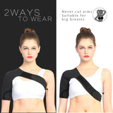 Women's Shoulder Brace Compression Sleeve Support Strap
