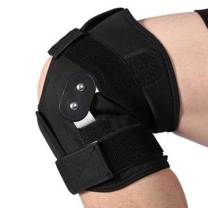 Dual Hinged Knee Brace with Open Patella Stabilizer ACL LCL MCL Support - StabilityPro™